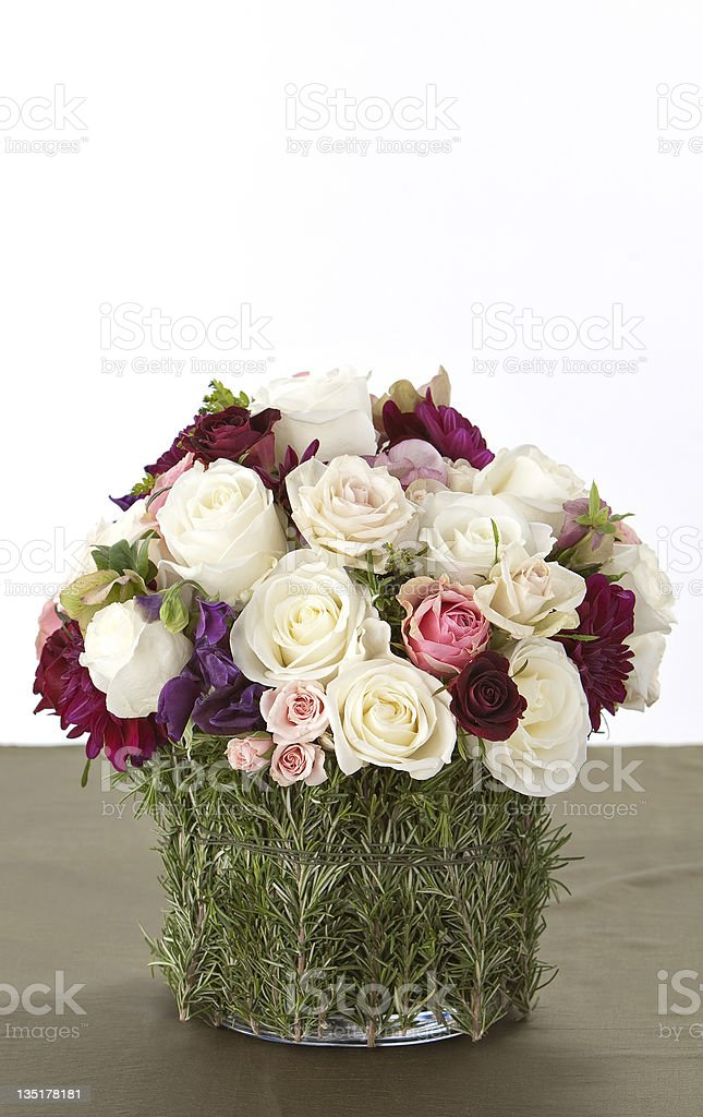 Wedding Centerpiece stock photo