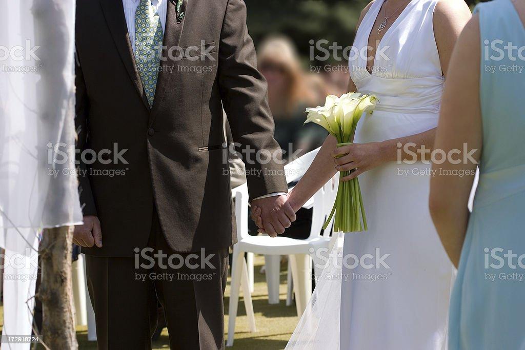 Wedding Ceremony royalty-free stock photo