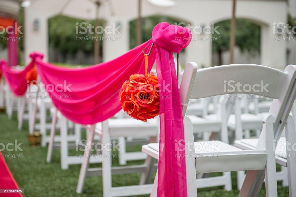 Wedding Ceremony Site stock photo