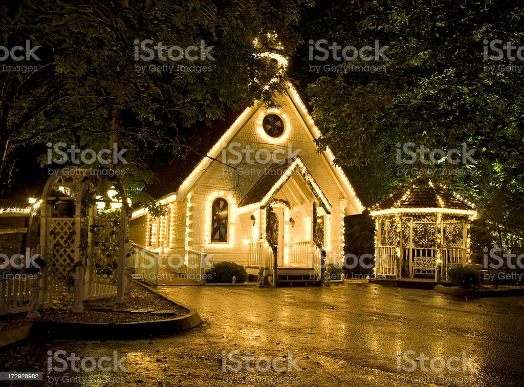 Wedding Chapel of Love Series royalty-free stock photo