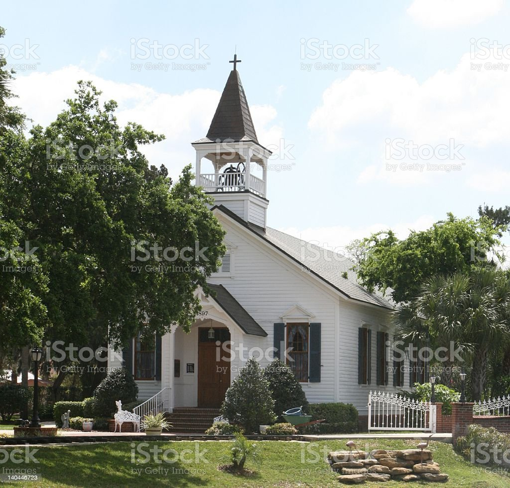 Wedding Chapel royalty-free stock photo