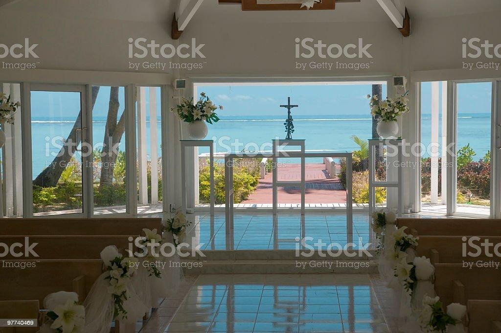 Wedding Chapel royalty-free stock photo