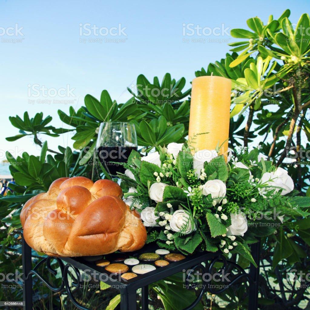Wedding Communion stock photo