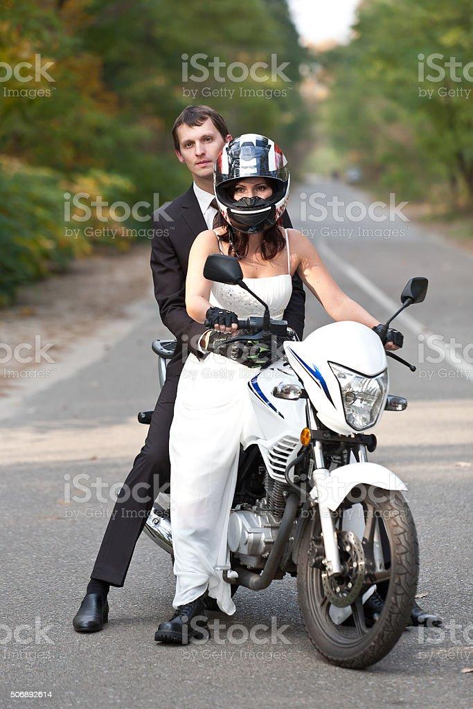 Wedding couple. stock photo