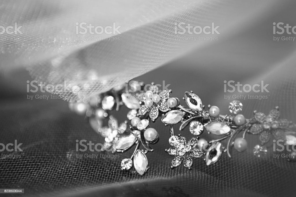 Wedding crown. stock photo
