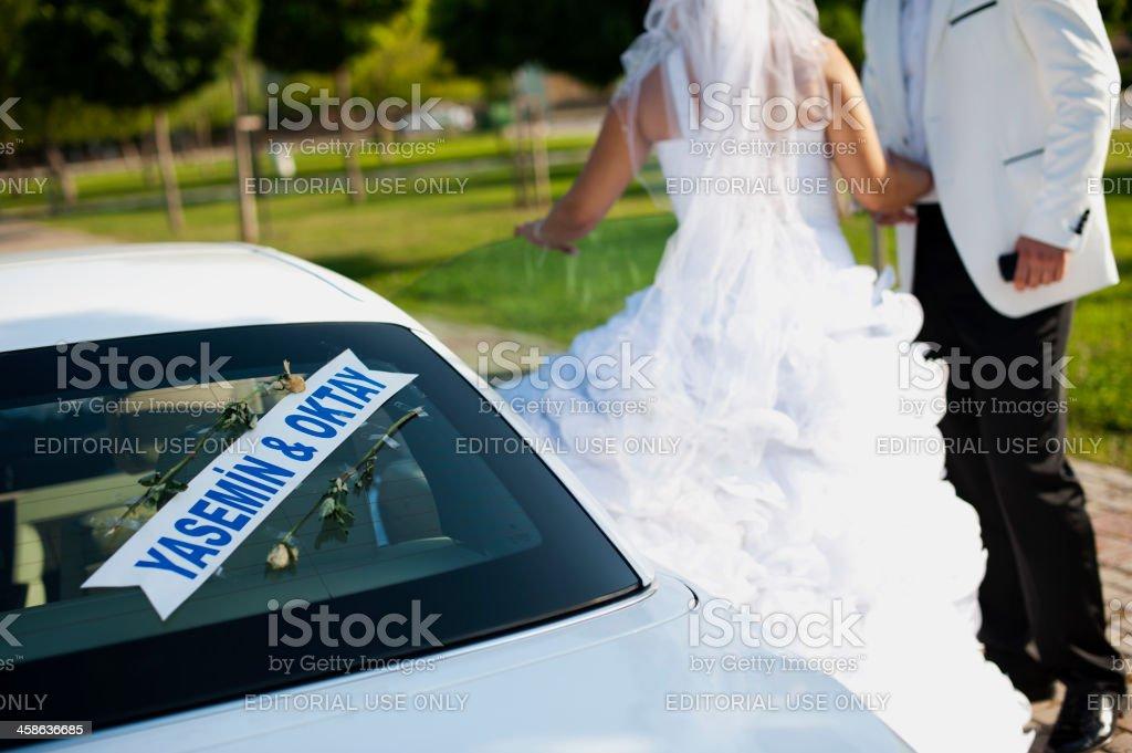 Wedding Day, Izmir, Turkey royalty-free stock photo