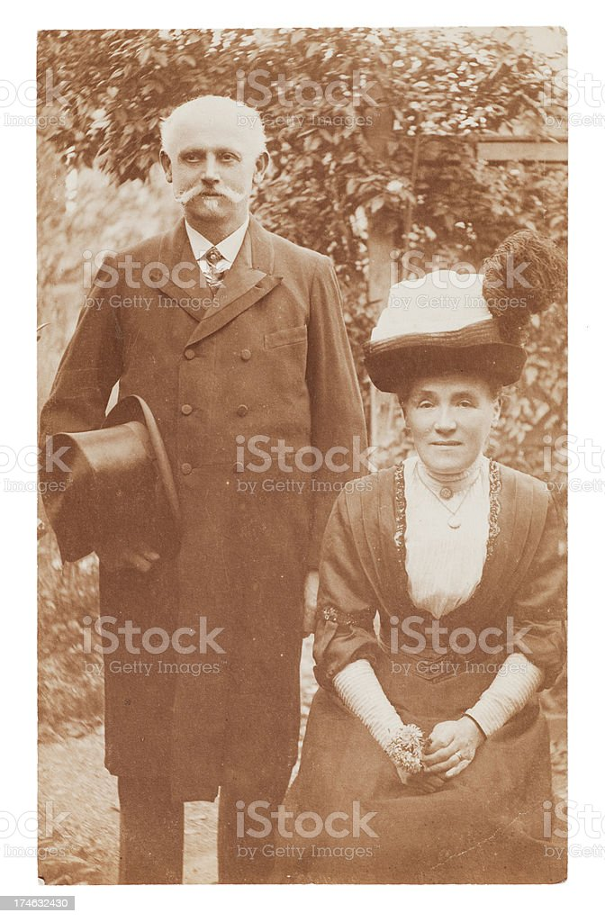 Wedding Day Parents royalty-free stock photo
