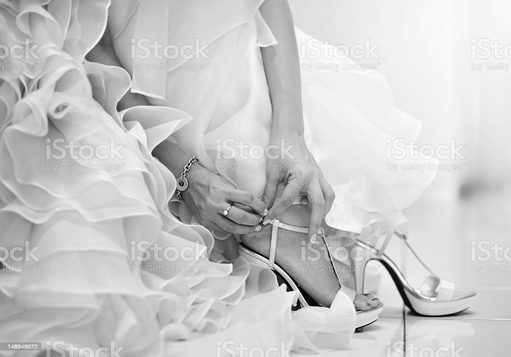 wedding day. stock photo