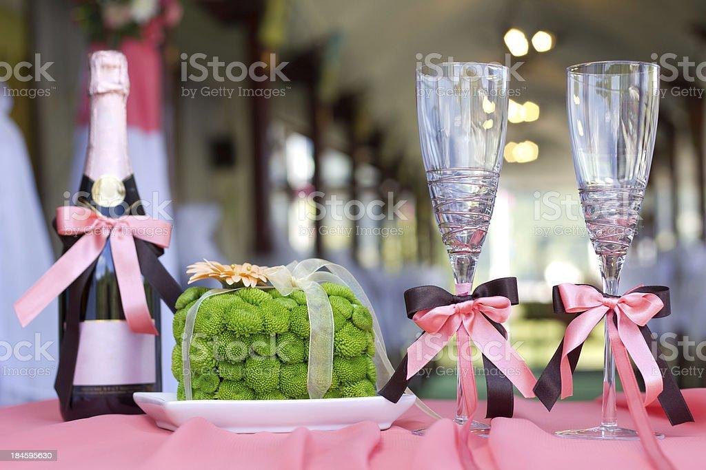 Wedding  decoration royalty-free stock photo