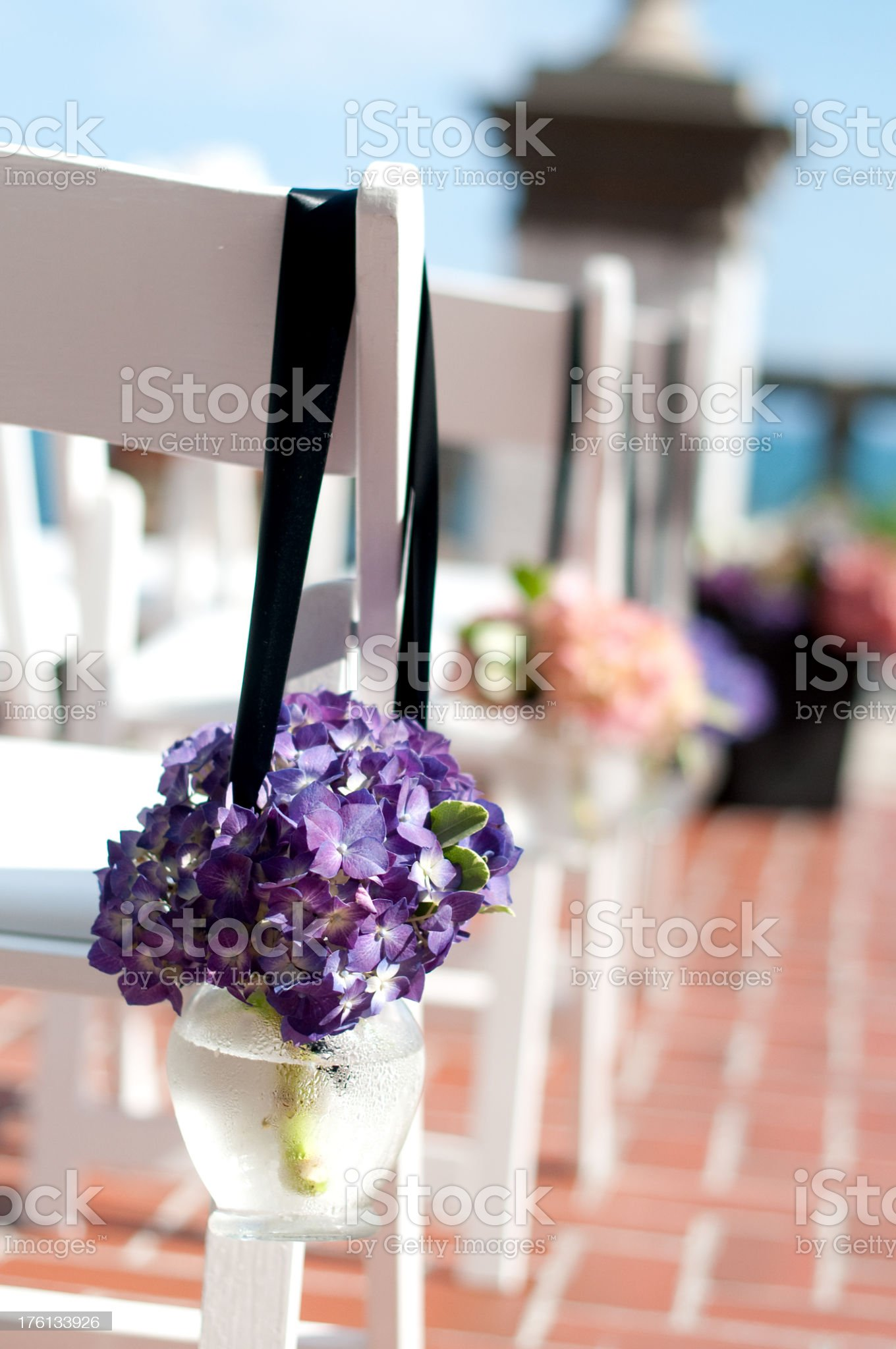 Wedding decorations royalty-free stock photo