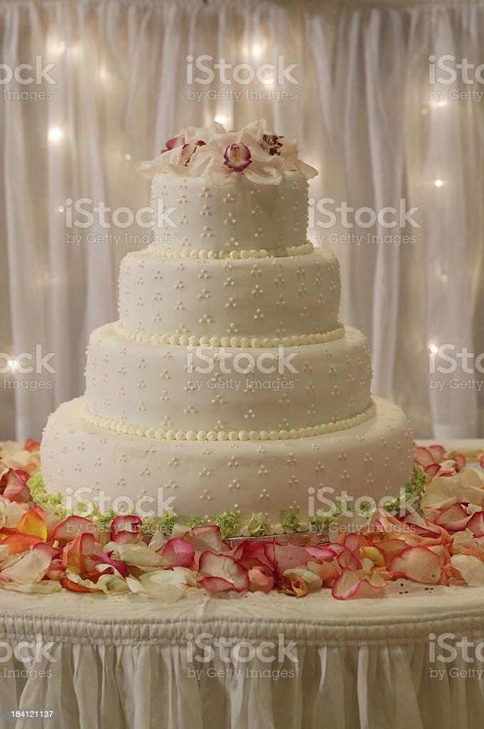 Wedding dessert Cake royalty-free stock photo