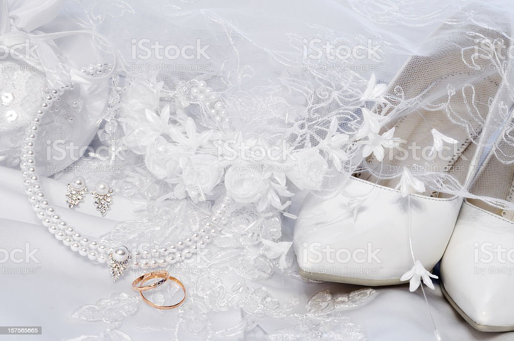 Wedding details royalty-free stock photo