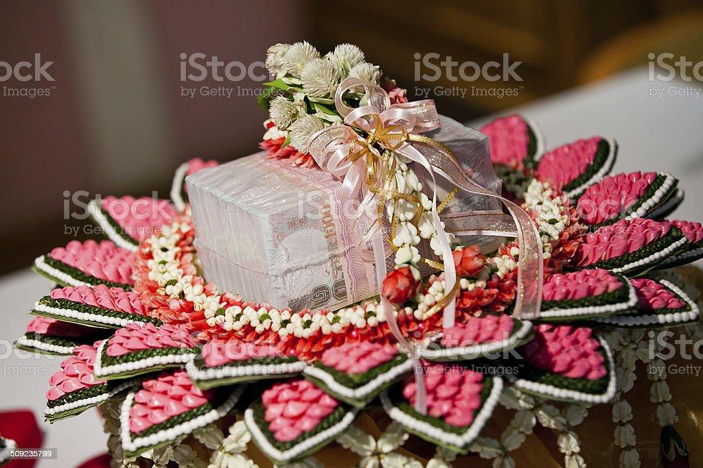 Wedding Dowry stock photo