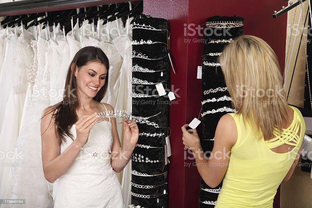Wedding Dress Accessories royalty-free stock photo