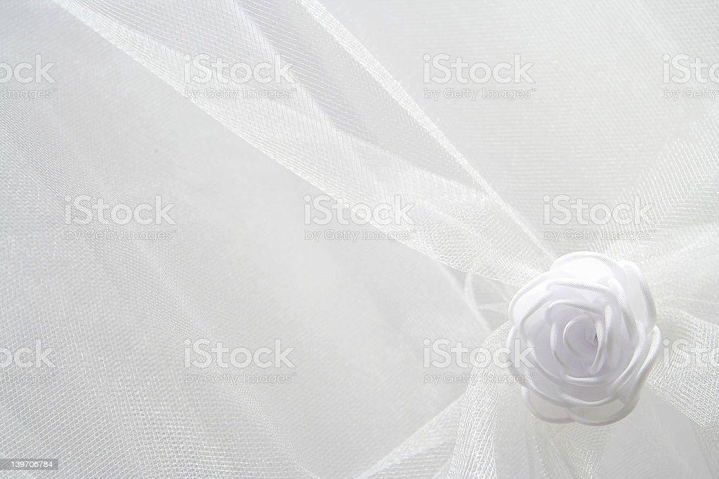 Wedding dress background stock photo