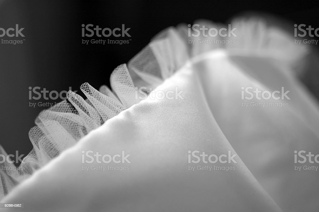 Wedding Dress Details royalty-free stock photo