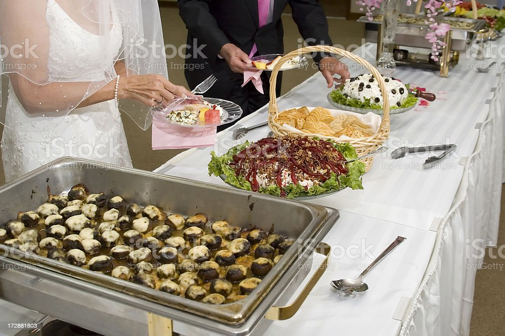 Wedding Feast royalty-free stock photo