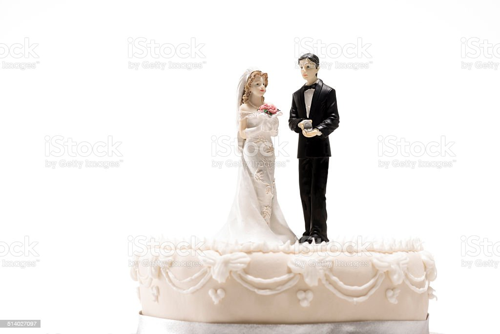Wedding Figures stock photo