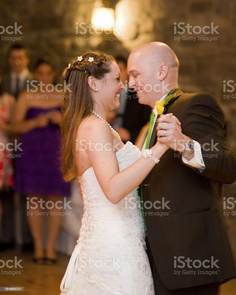 Wedding: First Dance (Impressionistic) stock photo