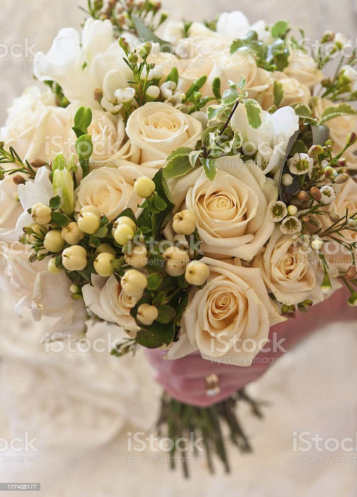 Wedding Flower Bouquet stock photo