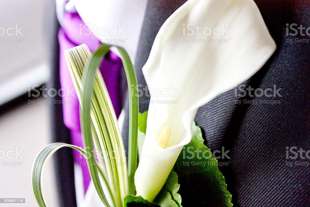 Wedding flower stock photo