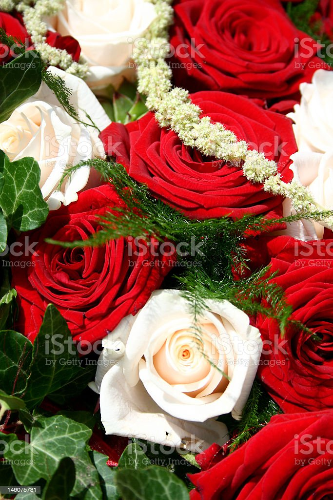 wedding flowers royalty-free stock photo