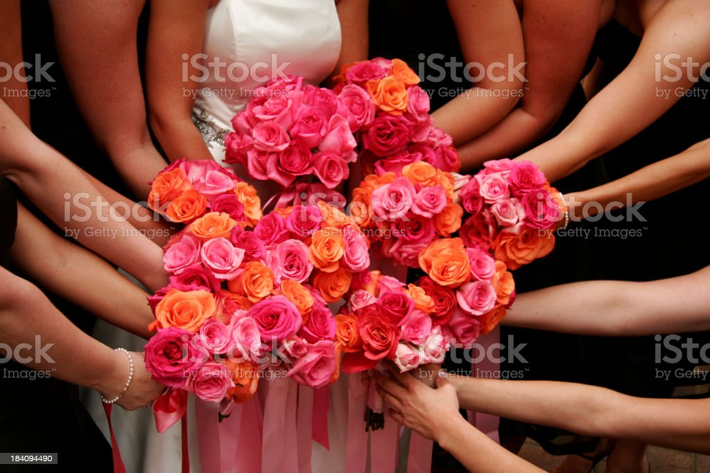 Wedding Flowers royalty-free stock photo