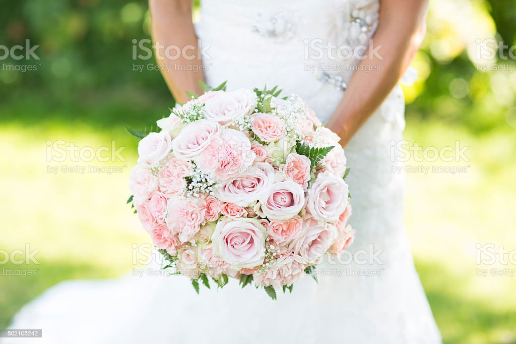 Wedding flowers stock photo