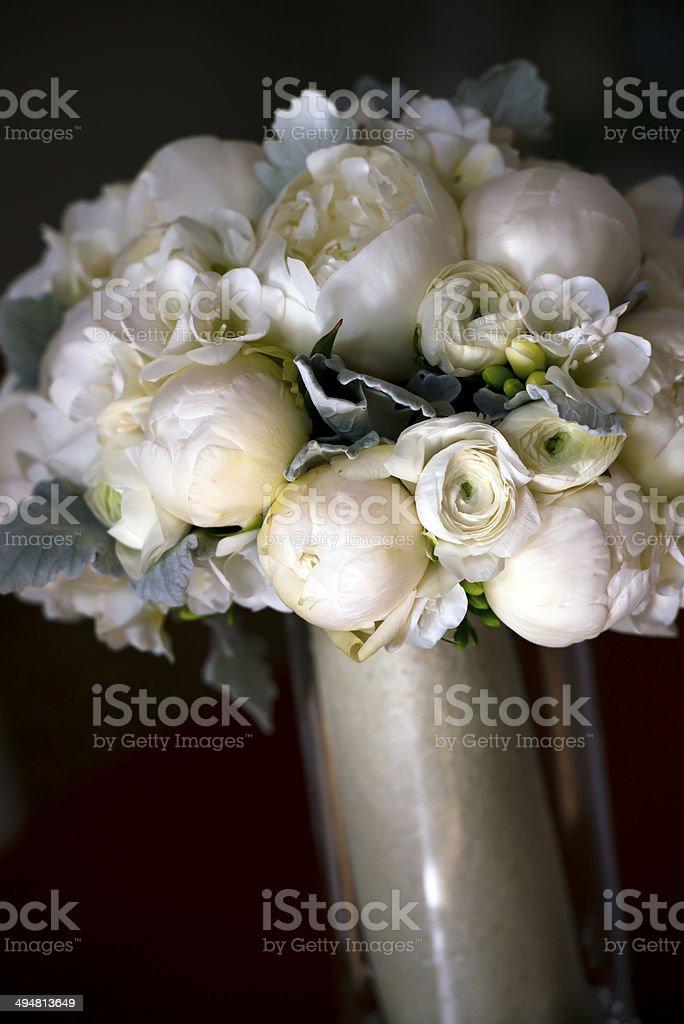Matrimonio bouquet di fiori sensibilità foto stock royalty-free