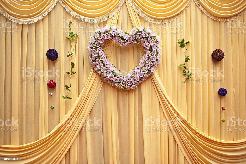 Wedding Garland stock photo