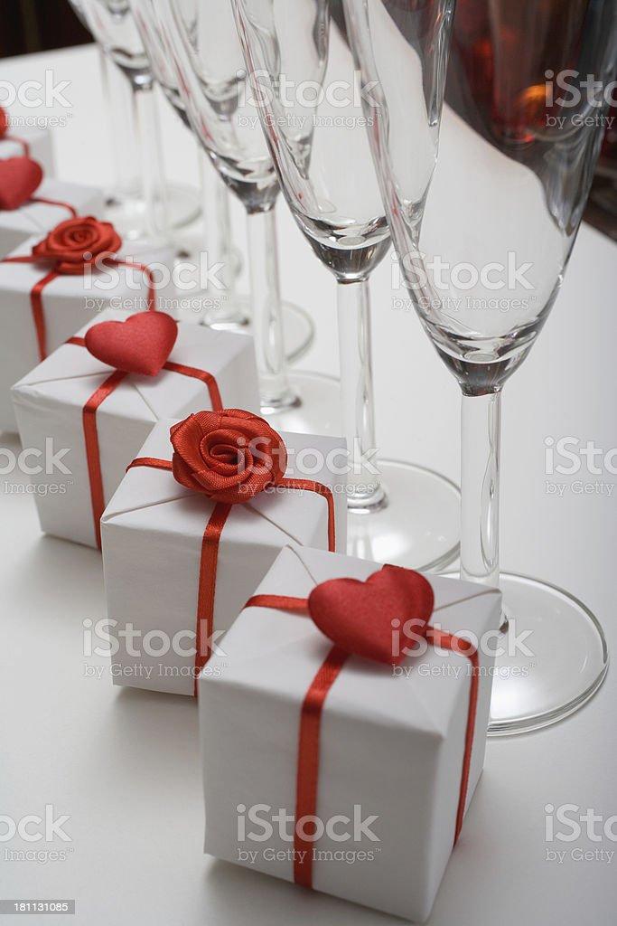 Wedding gifts royalty-free stock photo