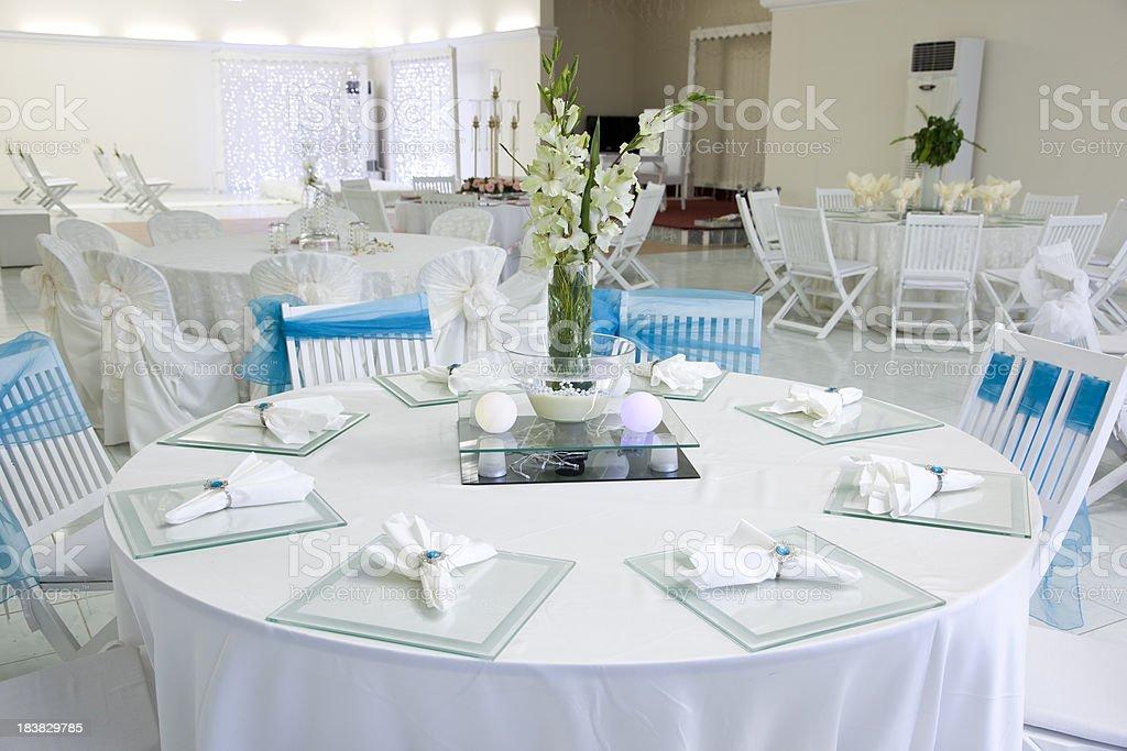 Wedding Hall royalty-free stock photo