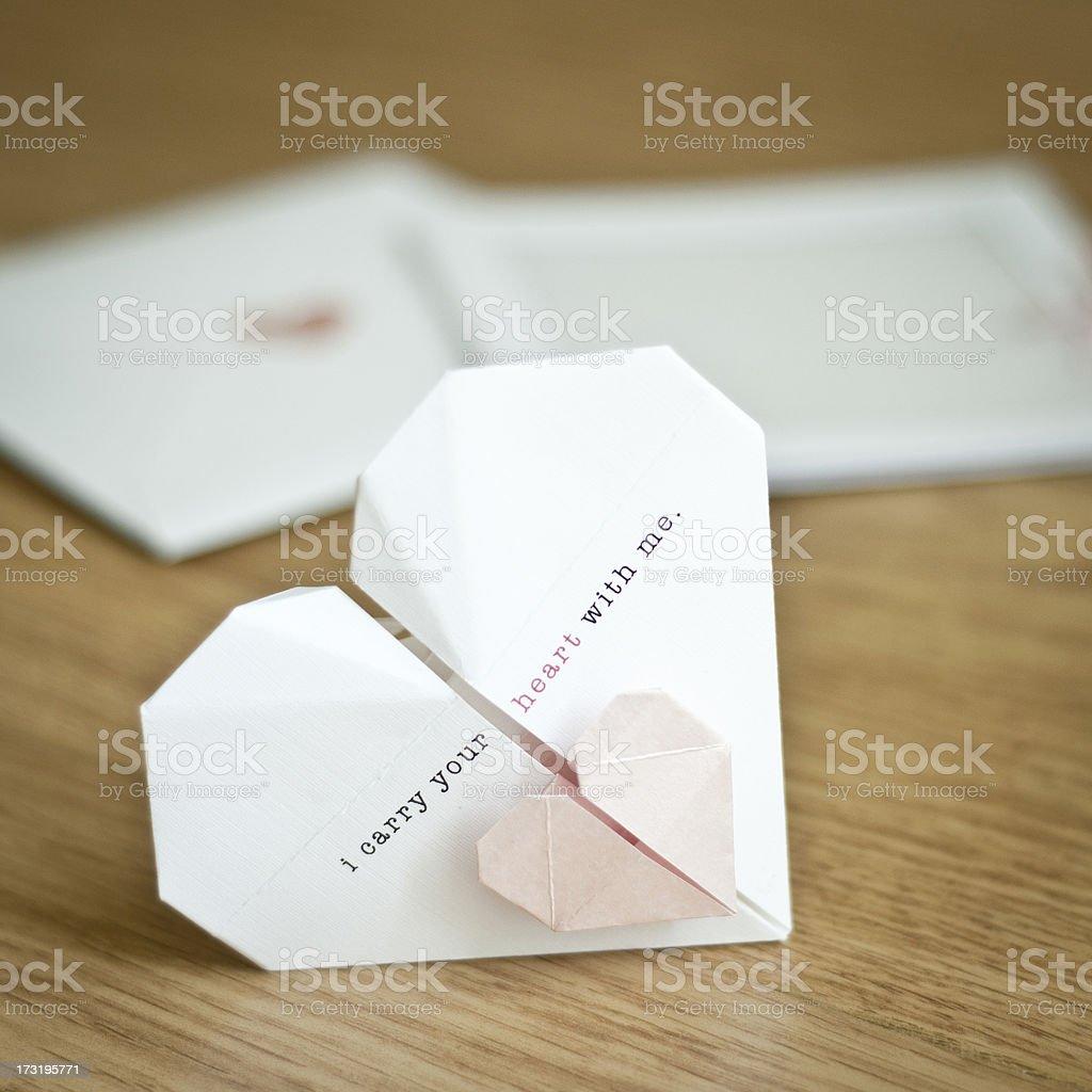 Wedding invitation royalty-free stock photo