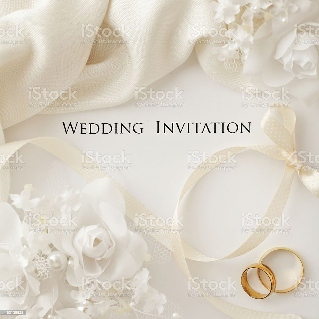 ... Wedding Invitation Stock Photo ...