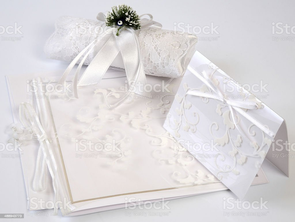 Wedding Invitation stock photo