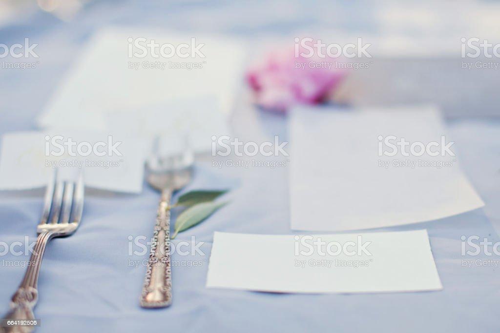 wedding invitations stock photo
