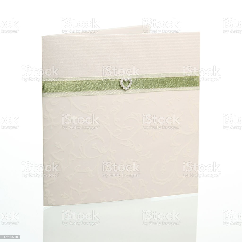 Wedding Invite royalty-free stock photo