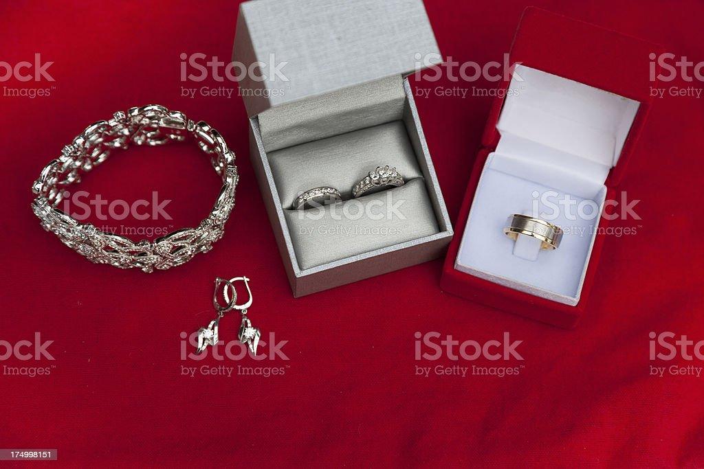 Wedding Jewelry royalty-free stock photo
