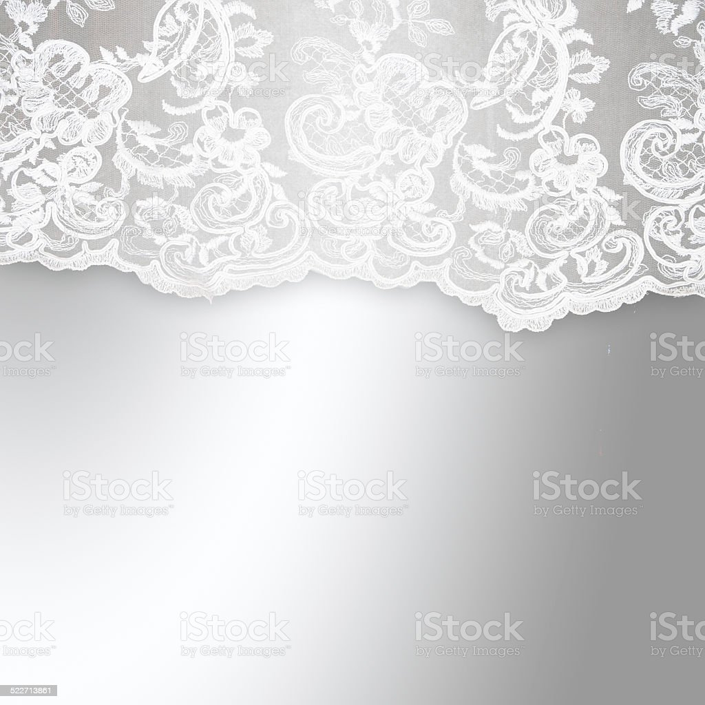 Wedding lace background stock photo