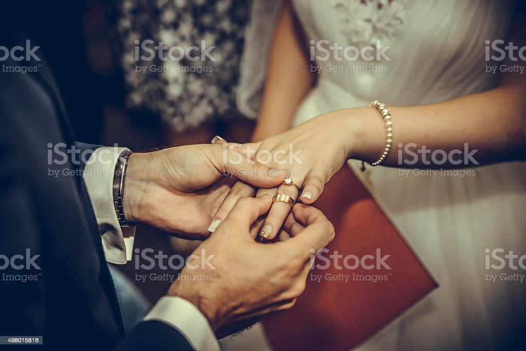 Wedding Love stock photo