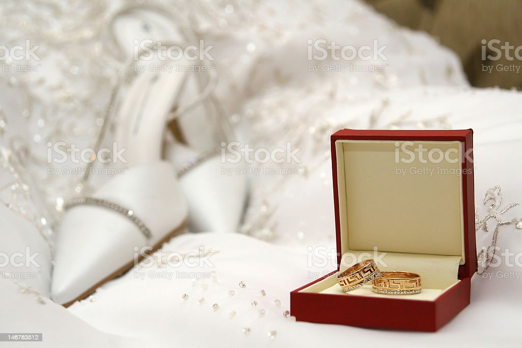 Wedding of a ring royalty-free stock photo
