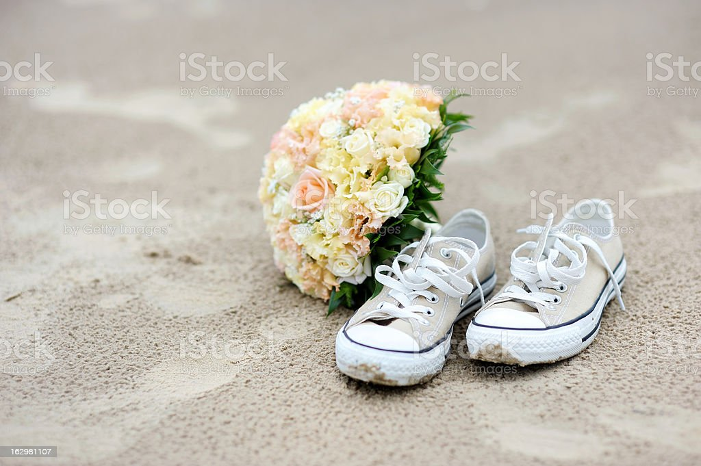 Wedding on a beach royalty-free stock photo