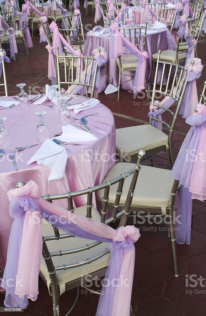 Wedding party preparations royalty-free stock photo