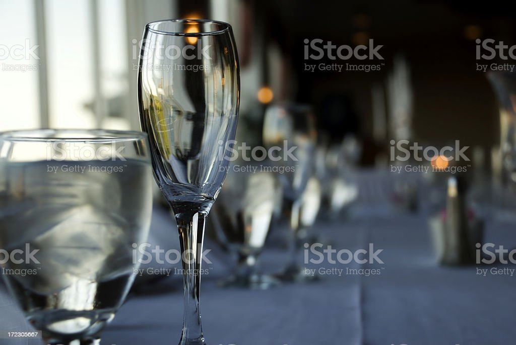 Wedding Party Table royalty-free stock photo