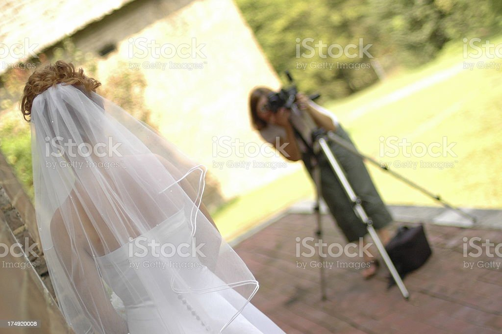 Wedding Photographer royalty-free stock photo