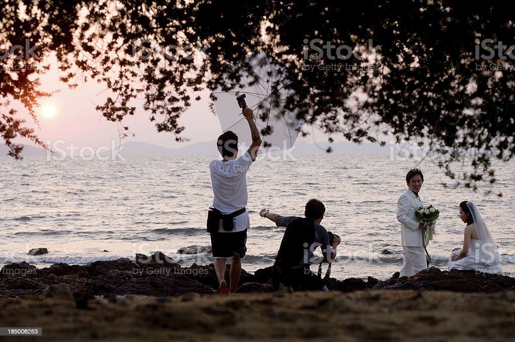 Wedding Photographer royalty-free stock photo