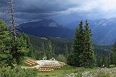 Wedding Place in Mountains