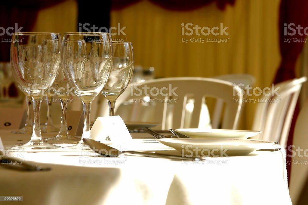 Wedding place royalty-free stock photo