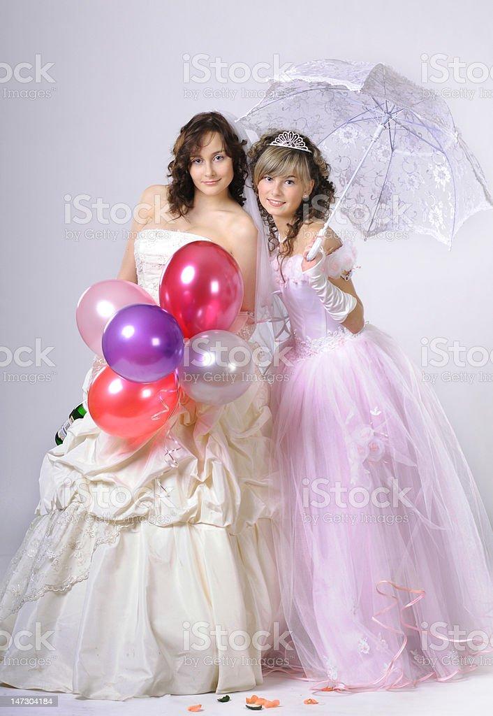 Wedding portrait royalty-free stock photo