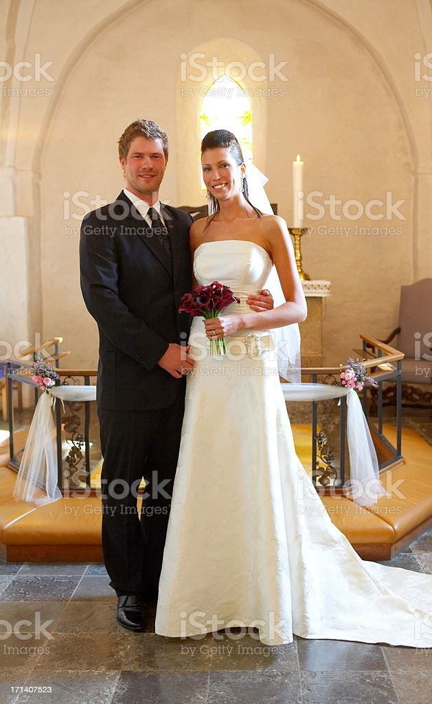 Wedding Portrait royalty-free stock photo